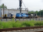 CSX 1127; NS 6753 and 9027